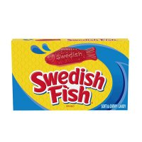 SWEDISH FISH RED THEATER BOX  87,9g  UPC 70462431230