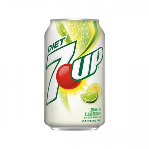 7Up Diet Lemon Lime 355ml