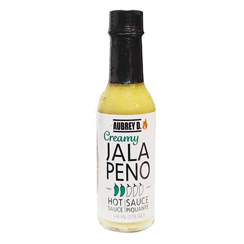 Aubrey D. Creamy JALAPENO Hot Sauce 148ml
