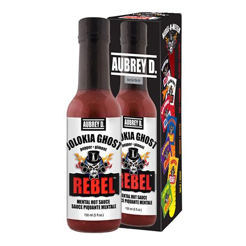 Aubrey D. Rebel JOLOKIA GHOST Hot Sauce 150ml