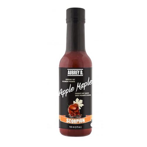 Aubrey D. Rebel APPLE MAPLE SCORPION Hot Sauce 150ml