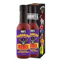 Aubrey D. Rebel HABANERO Hot Sauce 150ml