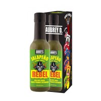 Aubrey D. Rebel JALAPENO Hot Sauce 150ml