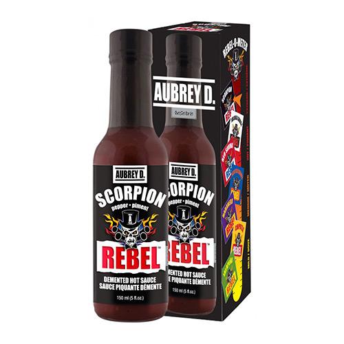 Aubrey D. Rebel SCORPION Hot Sauce 150ml