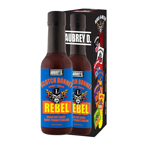 Aubrey D. Rebel SCOTCH BONNET Hot Sauce 150ml
