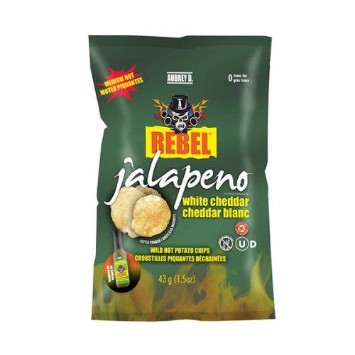 Aubrey D. Rebel JALAPENO CHEDDAR Potato Chips 43g