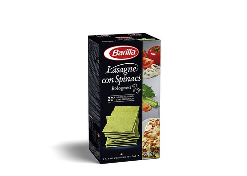 Barilla Lasagne with Spinach
