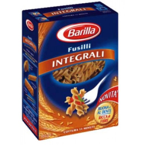 Barilla Fusilli Integrali /wholegrain/ 500g