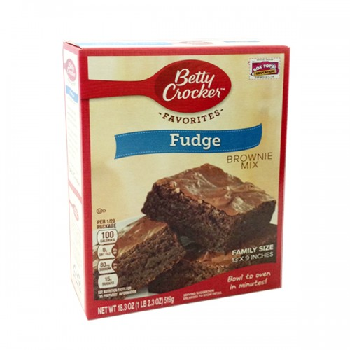 Betty Crocker Fudge Brownies Mix