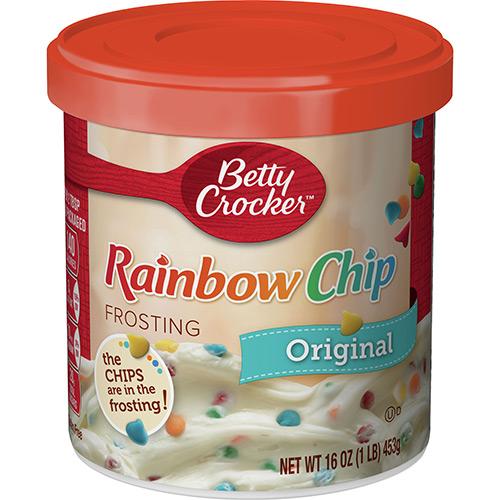 Betty Crocker Rainbow Chip Rich & Creamy Frosting 16oz