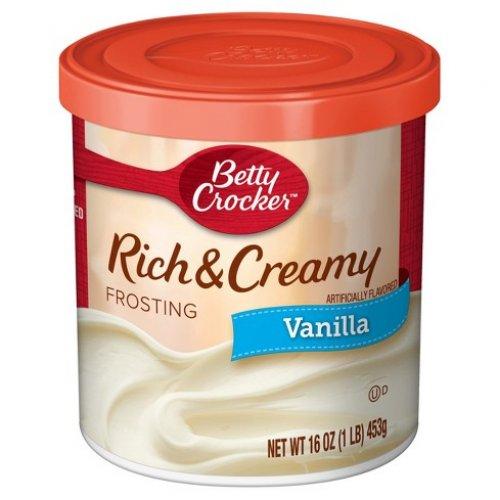 Betty Crocker Vanilla Rich & Creamy Frosting 16oz