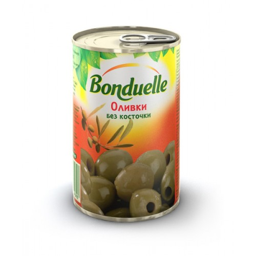 Bonduelle Green Olives pitted