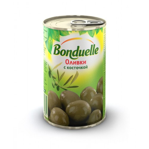 Bonduelle Green Olives whole