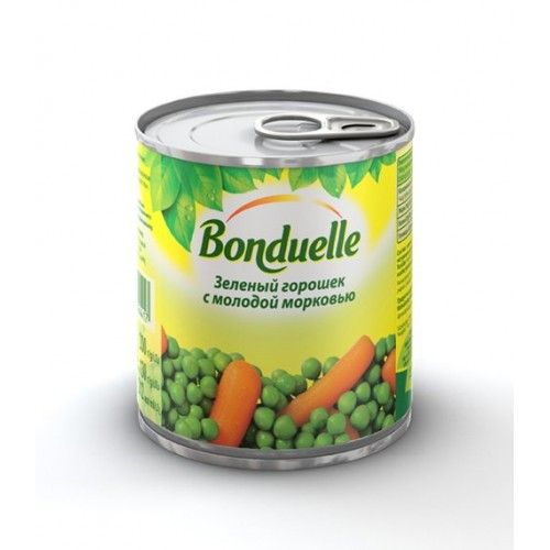Bonduelle Peas with Carrots mix