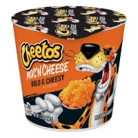 CHEETOS Mac and Cheese Bold & Cheesy Cup 66g UPC 0001530001495