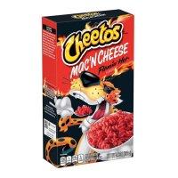 CHEETOS Mac and Cheese Flamin' Hot 160g UPC 015300200234