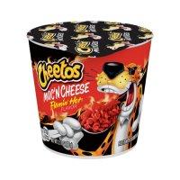 CHEETOS Mac and Cheese Flamin' Hot Cup 60g UPC 0001530001497