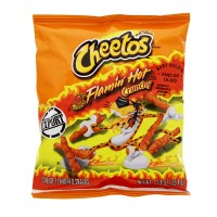 CHEETOS Crunchy FLAMIN' HOT 1.25oz (35.4g)