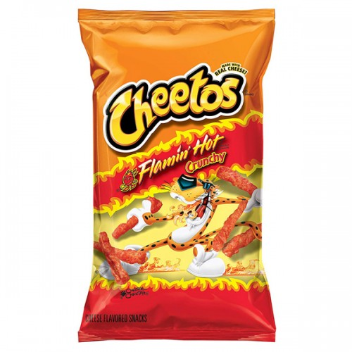 CHEETOS Crunchy FLAMIN' HOT 8oz (227g)