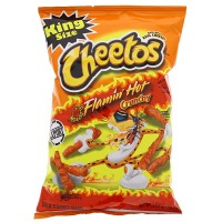 CHEETOS Crunchy FLAMIN' HOT 3.5oz (99.2g)