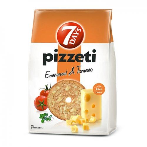 7Days Pizzeti Cheese and Tomato 80g 5201360620555