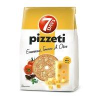 7Days Pizzeti Cheese, Tomato abd Olives 80g EAN 5201360624584