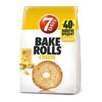 7Days Bake Rolls Cheese 112g EAN 5201360609406