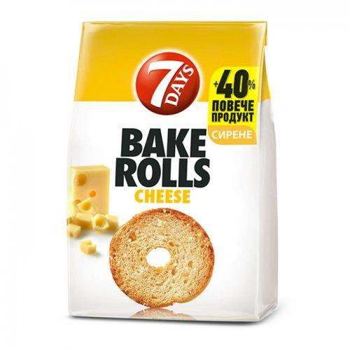 7Days Bake Rolls Cheese 112g