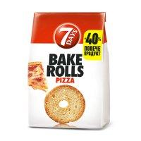 7Days Bake Rolls Pizza 112g EAN 5201360609307