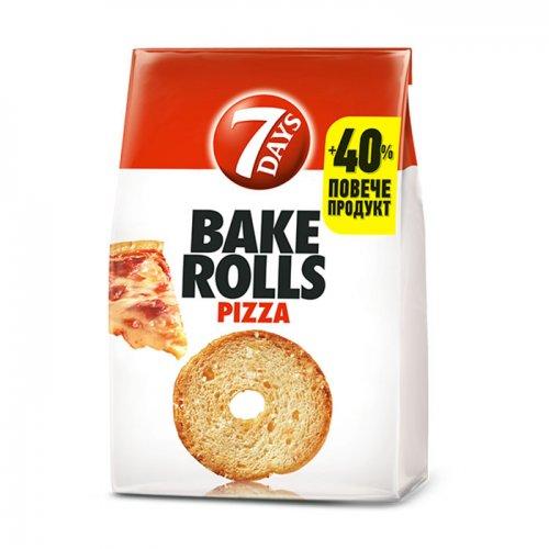 7Days Bake Rolls Pizza 112g 5201360609307