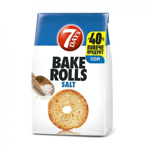 7Days Bake Rolls Salt 112g 5201360609000