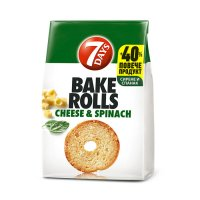 7Days Bake Rolls Spinach and Cheese 112g EAN 5201360609512