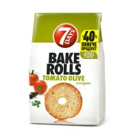 7Days Bake Rolls Tomato and Olives 112g EAN 5201360609703