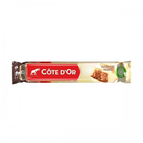 Cote d'Or White Praline Bar 45g