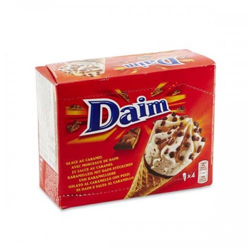 Daim Ice Cream Cone 4x110ml