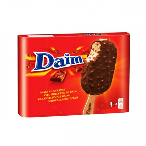 Daim Ice Cream Stick 4x110ml