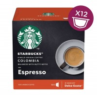 STARBUCKS Colombia Medium Roast Espresso for Nescafe Dolce Gusto