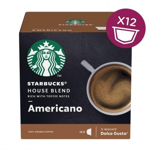 STARBUCKS Americano House Blend Medium Roast for Nescafe Dolce Gusto