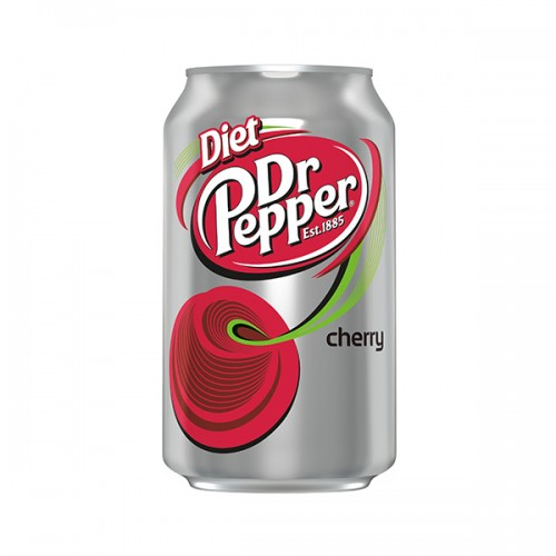 Dr Pepper Diet Cherry 355ml