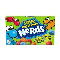 NERDS Big Chewy Sour Theater Box 141,75g  UPC 079200773809