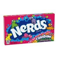 NERDS Rainbow Video box 5oz UPC 079200558338