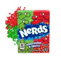 NERDS Wild Cherry & Watermelon 46,7g UPC 079200003395