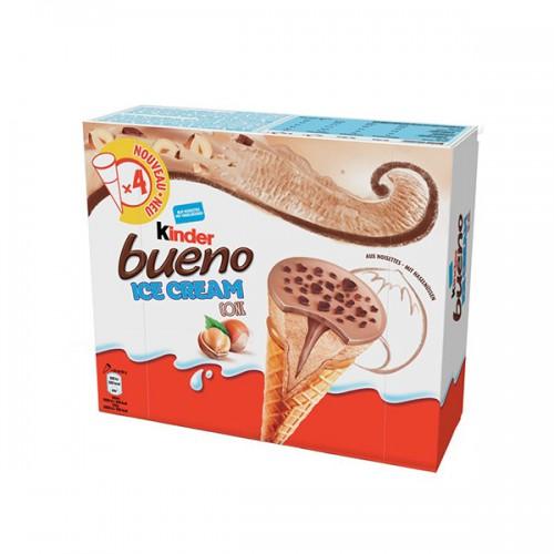 Kinder Bueno Ice Cream Cone 4x90ml