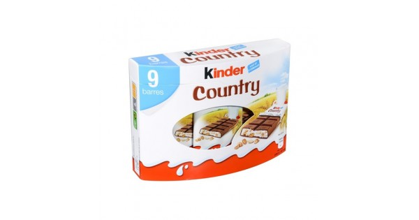 Kinder Chocolate With Cereal Calories
