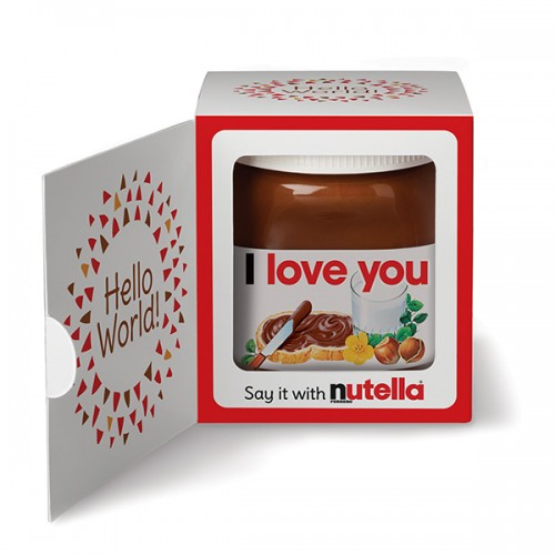 Ferrero Nutella Dedicated Gift Box 350g