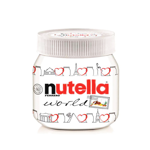 Ferrero Nutella World Jar 350g