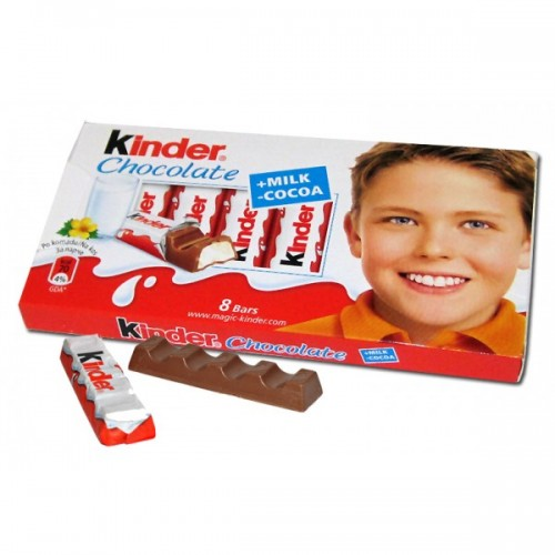 Ferrero Kinder Chocolate 100g(8 bars)