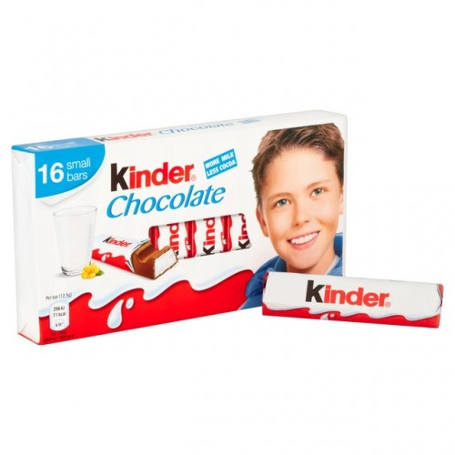 Ferrero Kinder Chocolate 100g(16 bars)