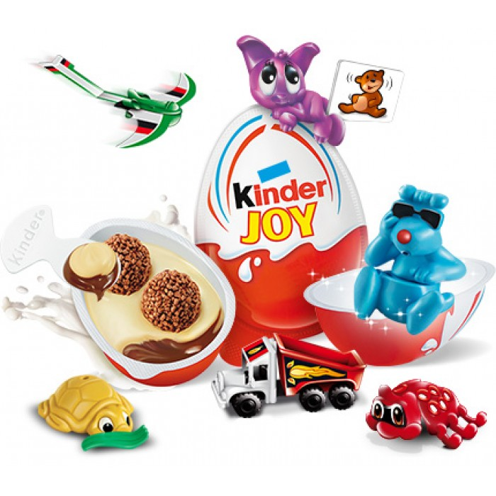 Jos And Toys : Ferrero kinder joy