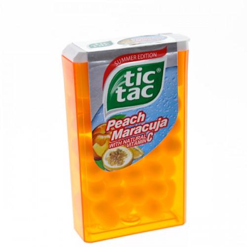 Tic Tac Peach & Maraciuja Mint 16g
